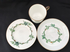 MINTON aesthetic period IVY cup saucer & plate trio